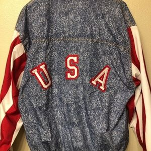 USA Soccer Adidas Jacket 1994 World Cup Size M